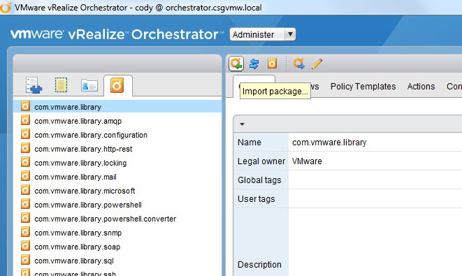FlashArray Workflow Package for vRealize Orchestrator | Cody Hosterman