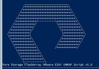 Pure Storage FlashArray UNMAP PowerCLI Script for VMware