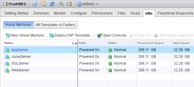 VMFS Snapshots and the FlashArray Part VI: Mounting a