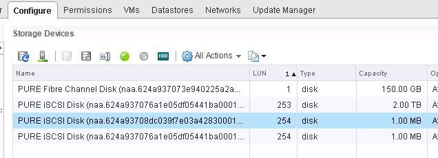 ESXi and the Missing LUNs: 256 or Higher | Cody Hosterman