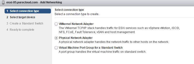 Setting up iSCSI Port Binding with Standard vSwitches in the vSphere