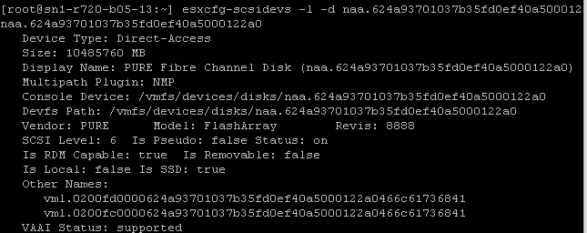 Issue with Consistent LUN ID in ESXi 6 5 | Cody Hosterman