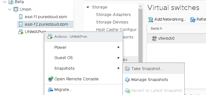 What's New in Core Storage in vSphere 6 7 Part I: In-Guest UNMAP and