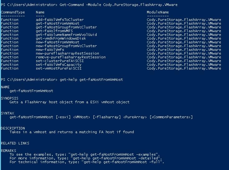 Pure Storage and VMware PowerShell Module | Cody Hosterman