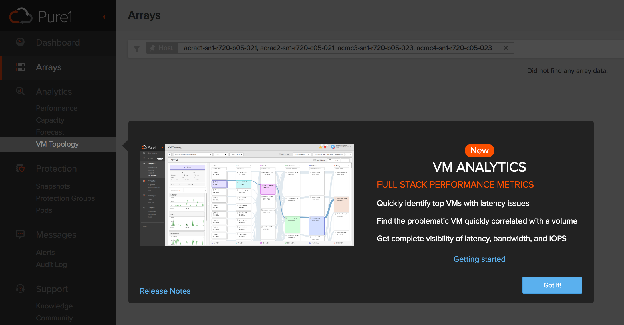 Configuring Pure1 VM Analytics | Cody Hosterman